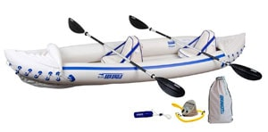 Sea-Eagle-370-Pro-3-Person-Inflatable-Portable-Sport-Kayak
