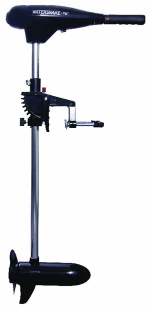 Watersnake-FWTCS30TH-30-Tracer-Transom-Mount-Trolling-Motor-with-30-Pound-Thrust,-30-Inch-Shaft,-12-Volt