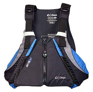 onyx curve movevent kayak life jacket