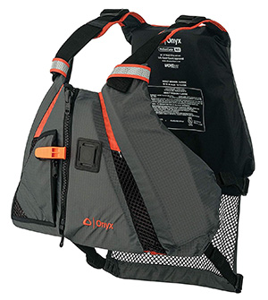 onyx movevent kayak life vest