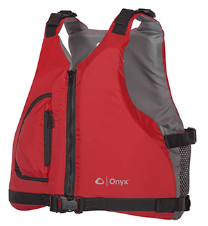 onyx youth kayak life jacket